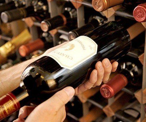 Large portable storage wines box