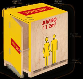 jumbo  sc 1 st  YOYO BOX & Yoyo Box TM - Mobile Self Storage Experts | From $1.25 / day